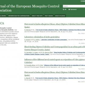The Journal of the European Mosquito Control Association - JEMCA